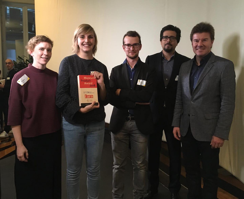 MAS wint de Museum Product Award 2018
