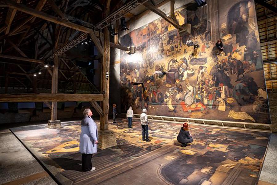 Studiedag en werkbezoek De wereld van Bruegel